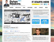 Dylan Haskins – Political Campaign