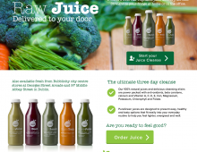 Puregreen eCommerce site
