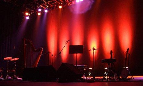 Joanna Newsom Stage