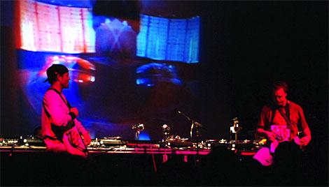 DJ Shadow (left) and Cut Chemist (right)